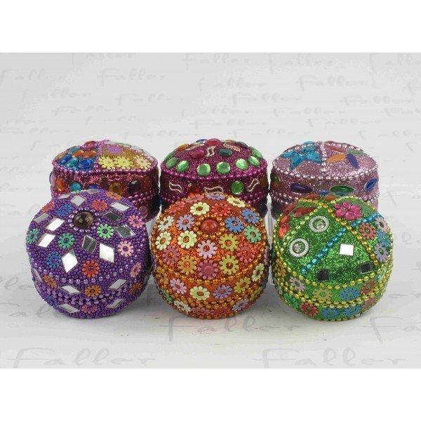Petite boite multicolore perlee avec dragees bapteme - Petite boite allumette a personnaliser ...