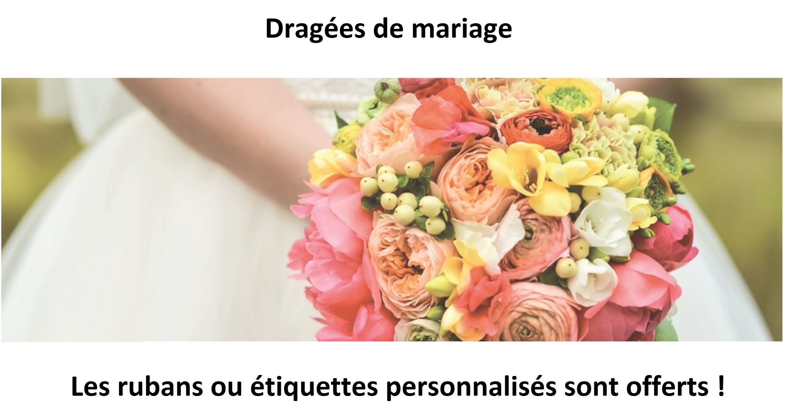 Achat dragees mariage à Lille