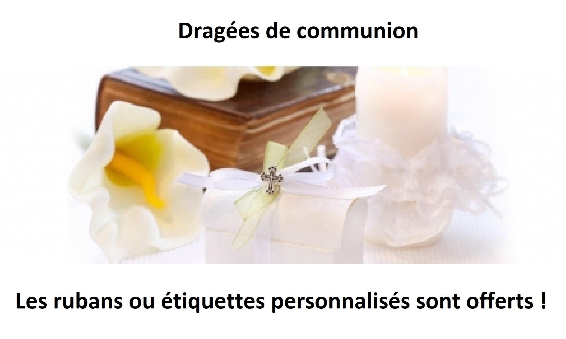 Achat dragees communion en Normandie